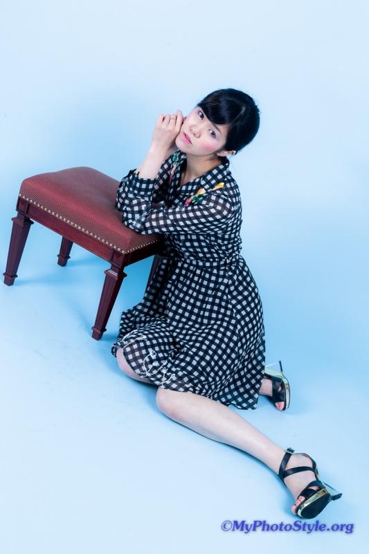 Asukaさん drop a stich 作品撮り