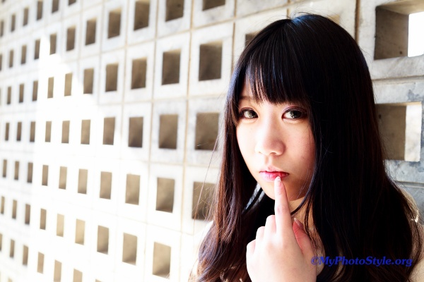 Yurikaさんポートレート