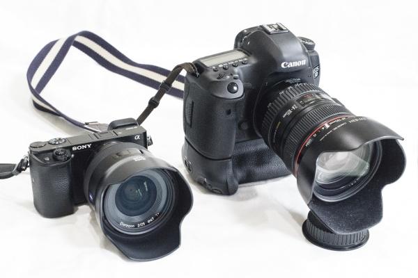 ガールズスナップを撮影しているカメラ機材