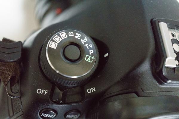 デジタルカメラ設定モード