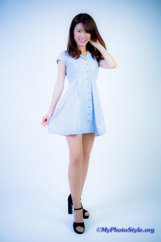 綾瀬麻衣さんファッションポートレート