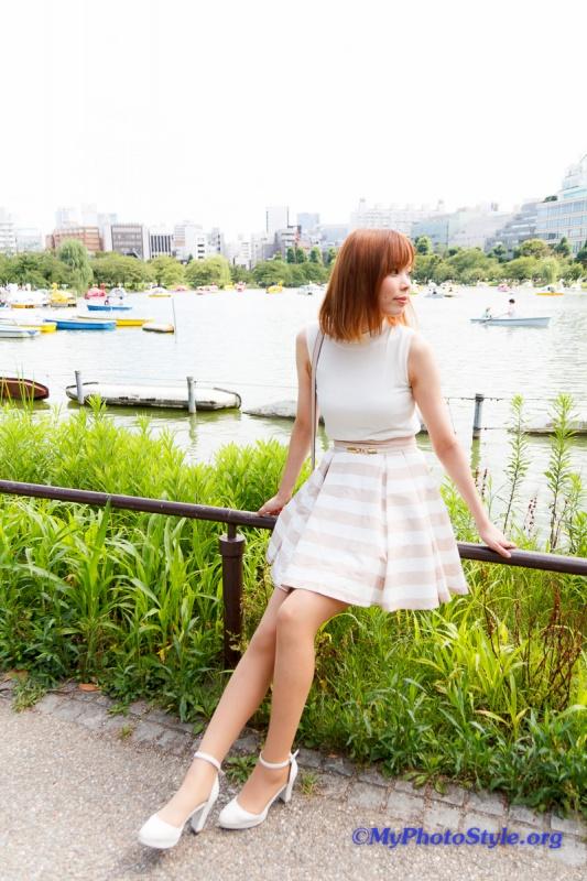 yunaさんお散歩ポートレート@上野恩賜公園、使用機材:Canon EOS60DとTamron SP AF17-50mm F/2.8 XR DiⅡ VC