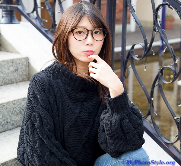 Yuriko 私服ポートレート
