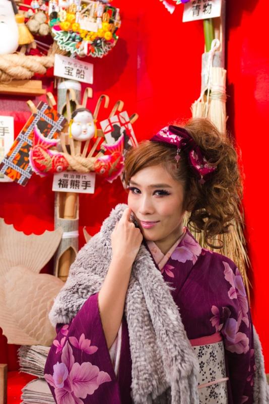 西川雅美 和装ポートレート