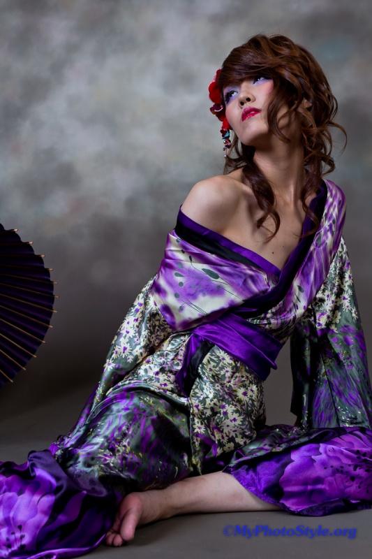 Asuka和装花魁宣材写真