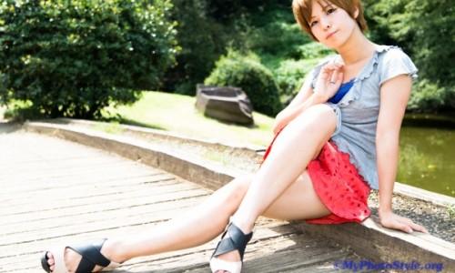Rina私服ポートレート